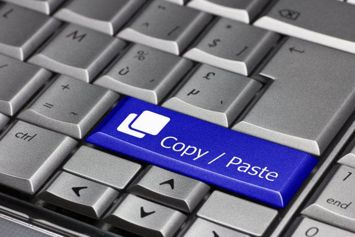 Copy / paste