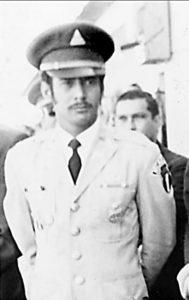"""""""Bravo"""" con su uniforme de gala de la Guardia Presidencial. MAGAZINE /LA PRE NSA /Cortesía de Nicolás López Maltéz"""