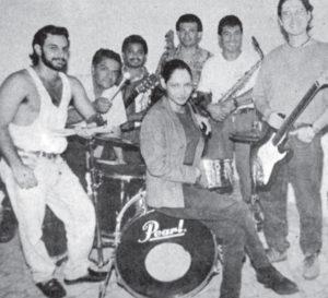 Con Lya Barrios y Eduardo Araica.