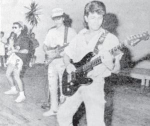 En el debut de Clave 90 en el Hotel Intercontinental.