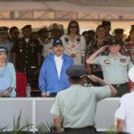 Ejercito de Nicaragua, en su 40 aniversario realiza defile de fa