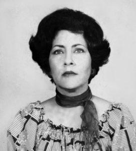 Los ojos de Nora Mahamud eran bellos, como se puede ver en esta foto de la que sus familiares desconocen la fecha.
