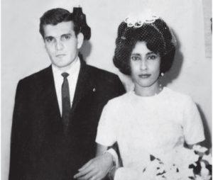 Alejandro Sampieri y Nora Mahamud en una época feliz. ¿Qué pudo haber pasado para que se diera una separación abrupta?